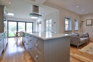 rear extension and kitchen by Ashley Lewis